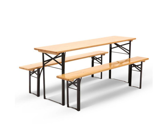 Blacktown Outdoor Foldable Bench Set