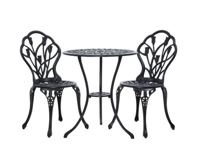 Brooklyn Aluminium Table Chair Patio