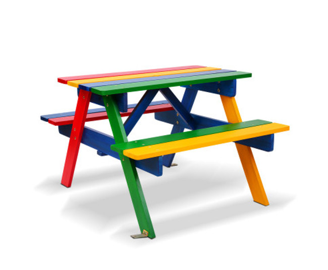 Bungarribee Wooden Picnic Bench Set