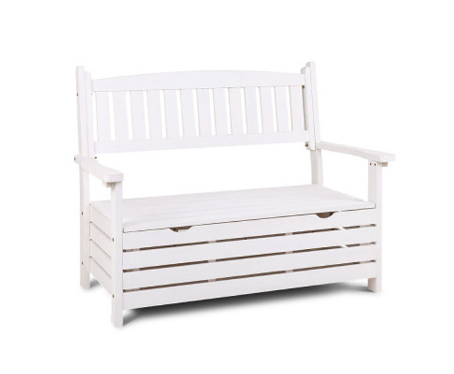 Airds Bench Box Wooden Garden Chair