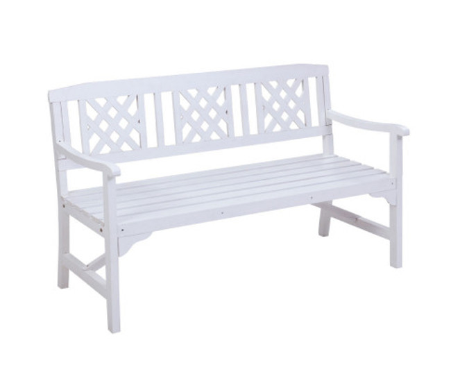 Camellia Bench Patio Timber Lounge