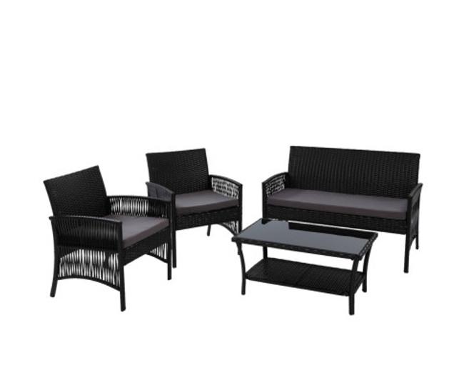 Chifley Outdoor Furniture Set 4pc Cushion
