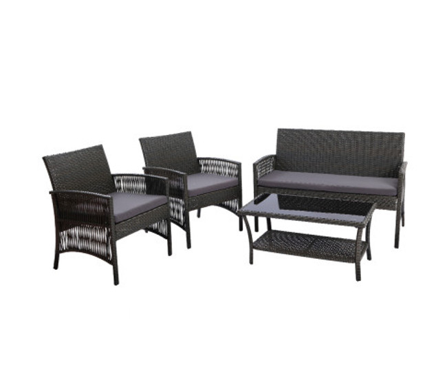 Chullora Furniture Set Wicker Cushion