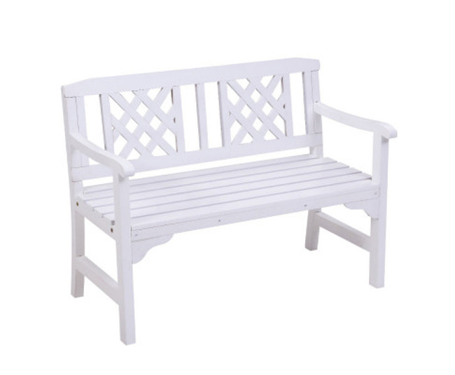 Clareville Bench Patio Timber Lounge