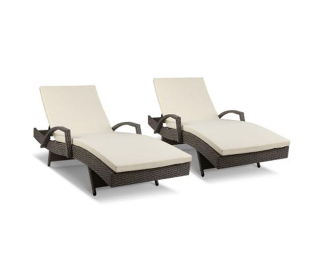 Huntingwood Sun Lounger with Cushion