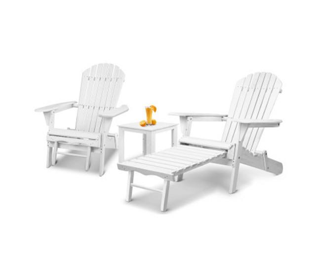 Illawong Adirondack Lounge Chair Set