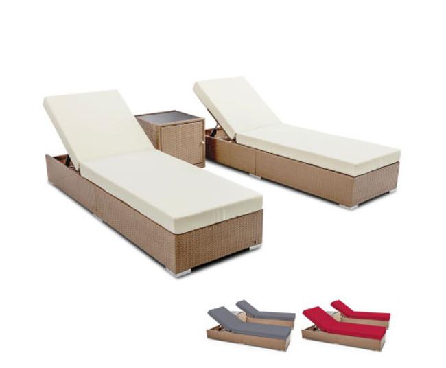 Ingleside Outdoor Wicker Lounge Set