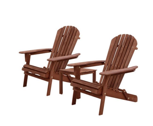 Leichhardt Wooden Adirondack Lounge