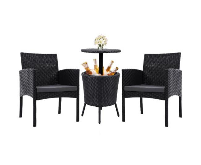 Miranda Chairs Bar Table Patio Bistro Set