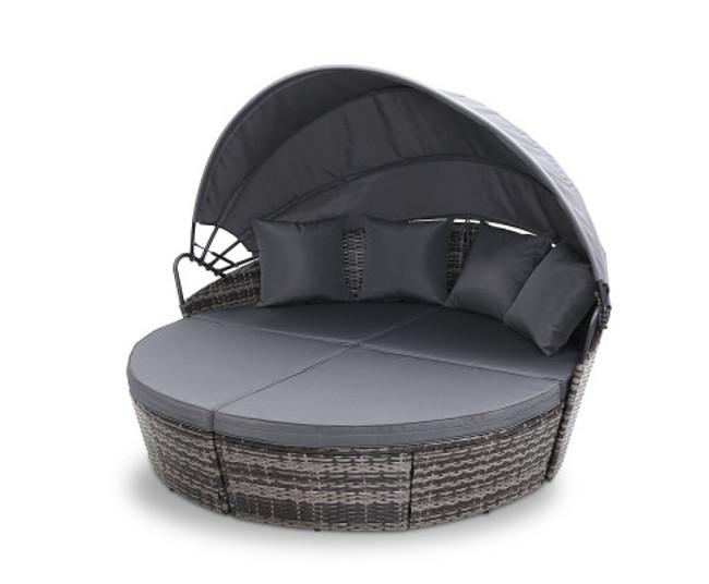 Mortdale Grey Lounge Setting Sofa Set
