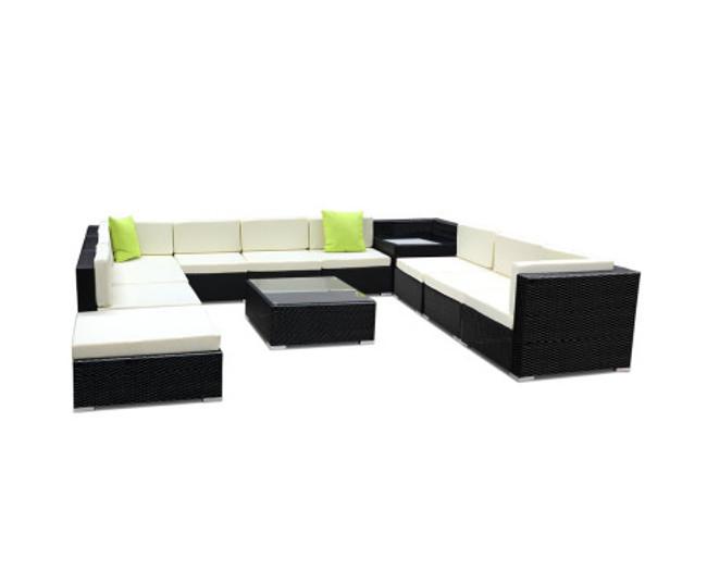 Doonside 12PC Sofa Set Garden Lounge