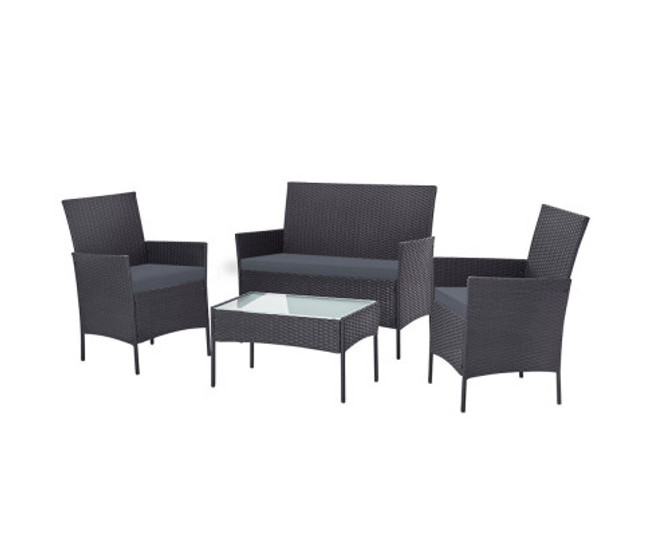 Fairfield Lounge Setting Sofa Patio Storage