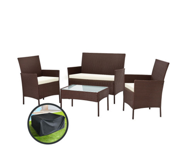 Gilead Lounge Setting Patio Storage Cover