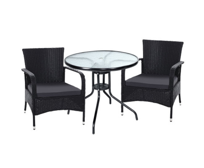 Grasmere Dining Chairs Patio Cafe Bar Set