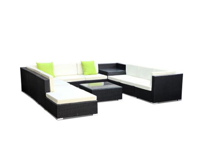 Greendale 11PC Sofa Garden Patio Lounge