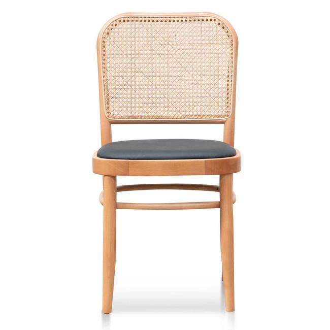 Richards Black Cushion Dining Chair