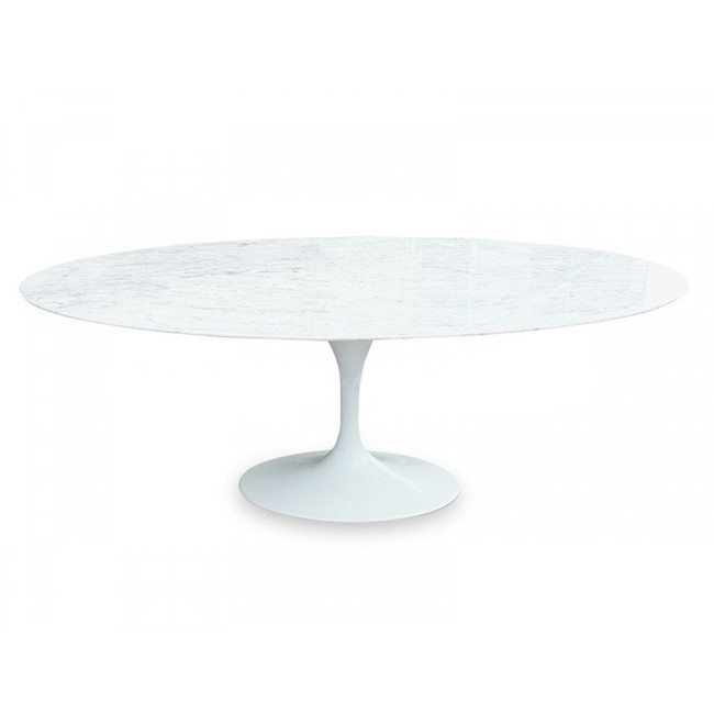 Riverstone Oval 2m Marble Dining Table