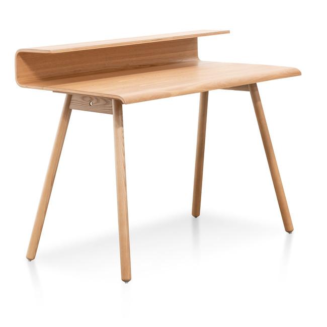 Alvie Natural Wooden Home Office Desk