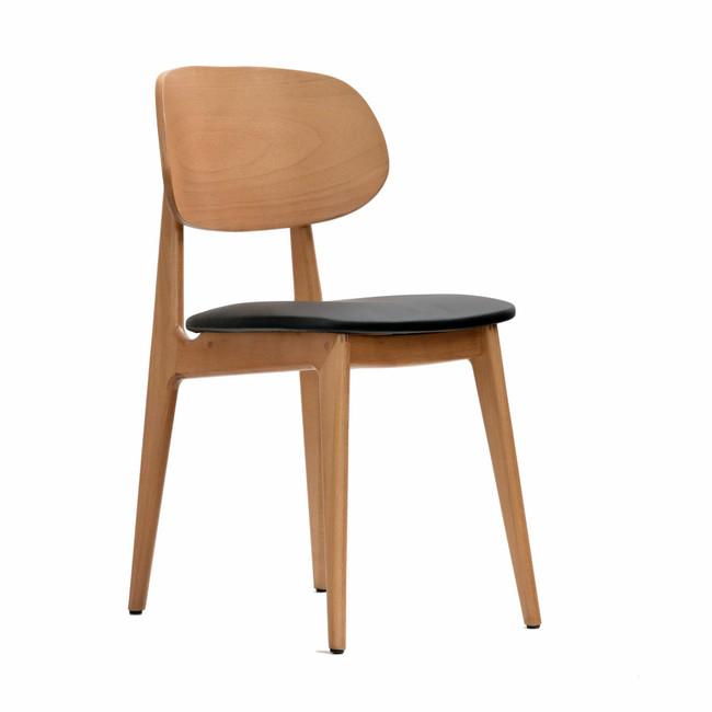 Ban Chair - Black Dolaro Vinyl Seat
