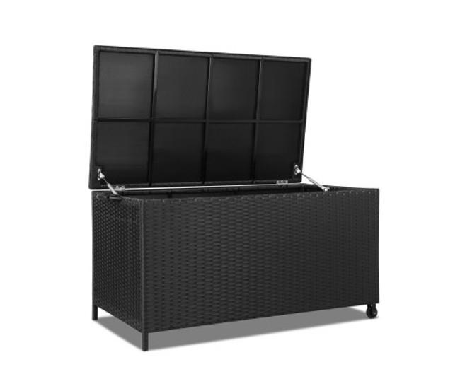 Banyo 320L Outdoor Wicker Storage Box