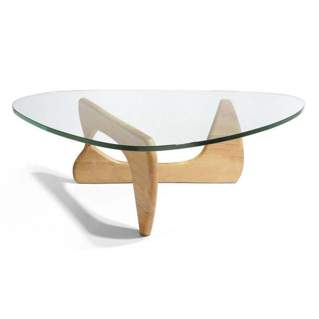Lily Coffee Table - Isamu Noguchi Replica - Natural Oak