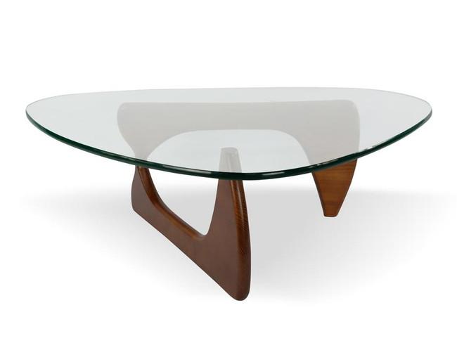 Lily Coffee Table - Isamu Noguchi Replica- Walnut