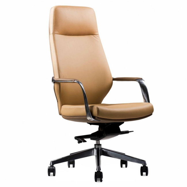 Moses Beige High Back Executive Office Chair