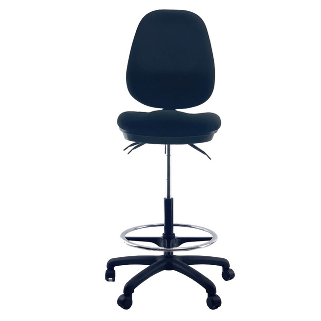 Holmes Wide Seat Drafting Office Chair