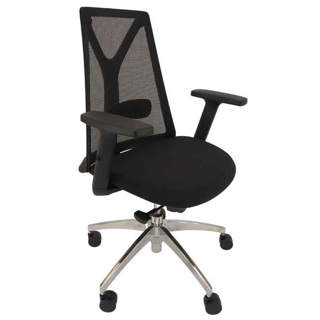 Darren Black Mesh Executive Office Boardroom Chair