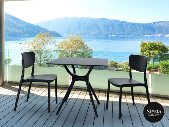 Monna 3 Piece Balcony Furniture Setting