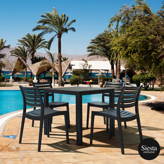 Ares 5 Piece Outdoor Table Setting