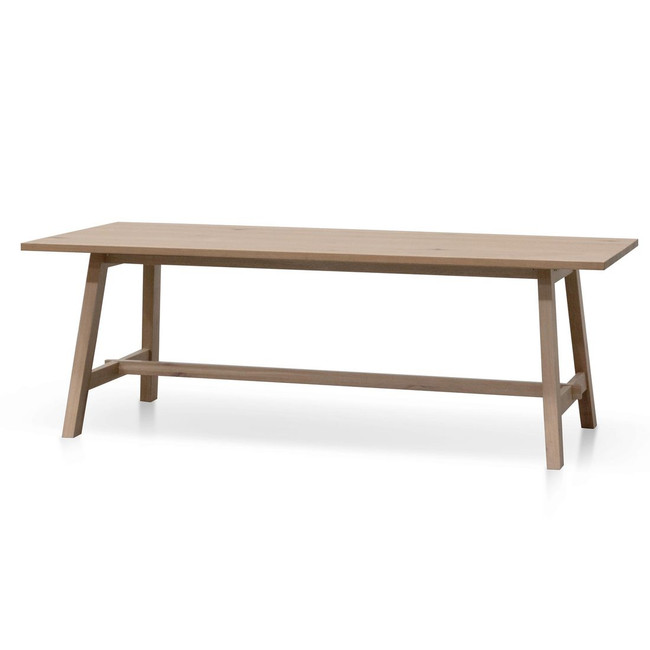 Alloway 2.2m Wooden Dining Table