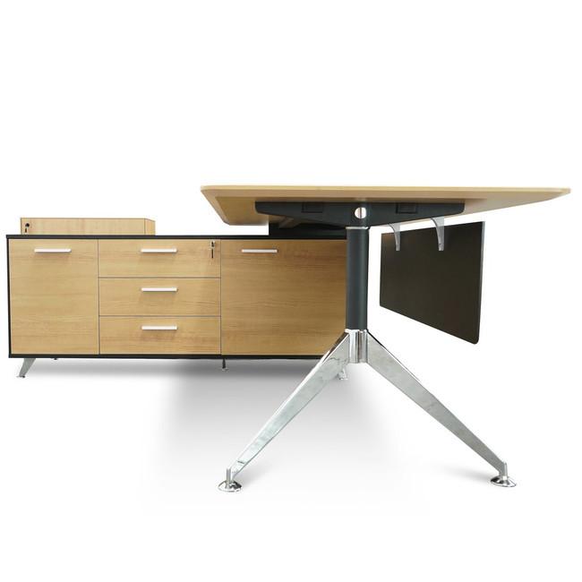 Diwan 1.95m Executive Desk Left Return