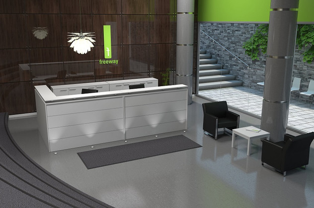 Getting An Ideal Office Reception Desk