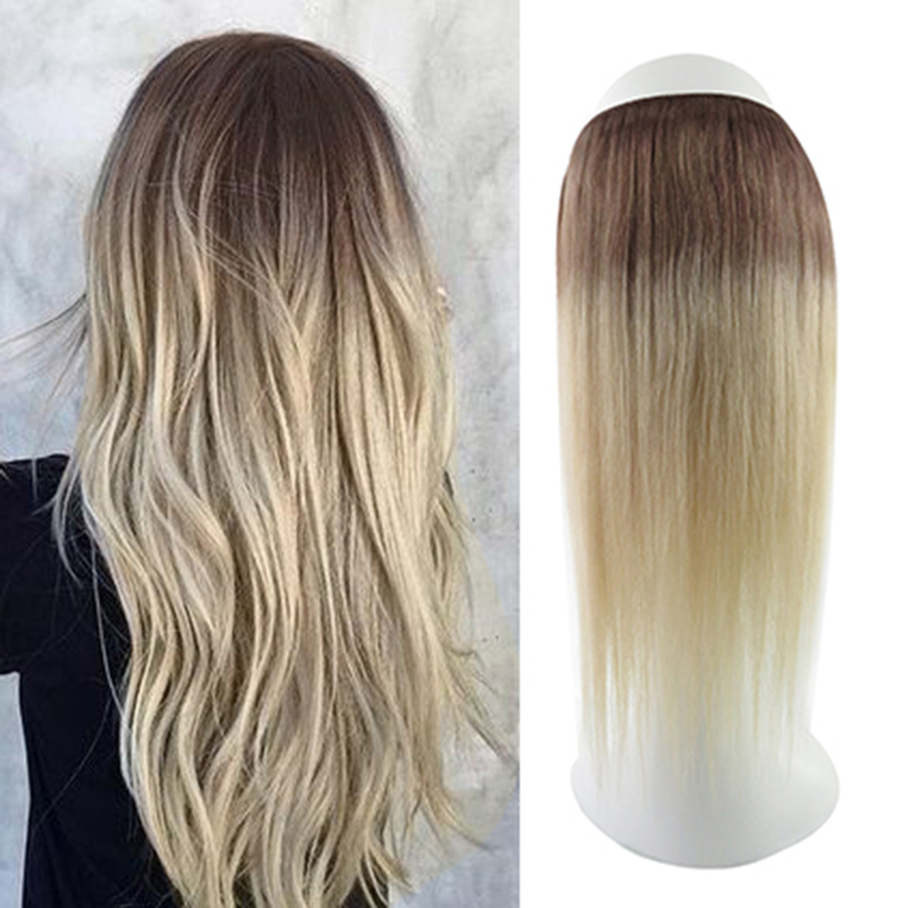 Remeehi Remy Human Hair Halo Secret Invisible