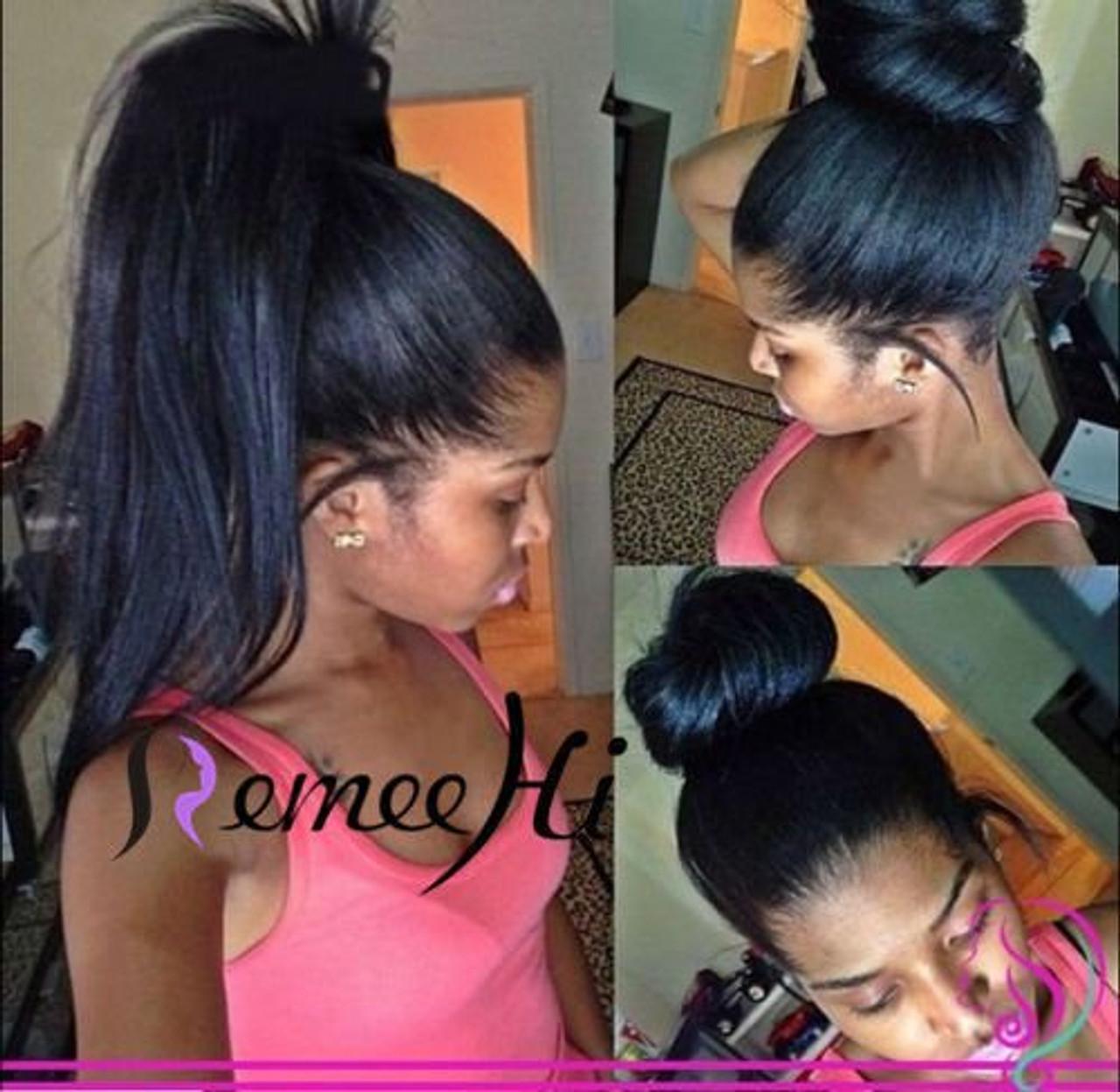 Remeehi Italy Yaki Full Lace Wig 100% Brazilian