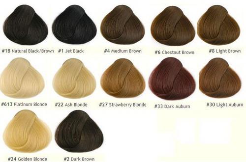 Remy Hair Colors Pigout