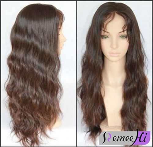 Remeehi Long Body Wave Indian Virgin Hair Natural Color With Elastic Band 8 24inch 100 Human Hair Remeehi