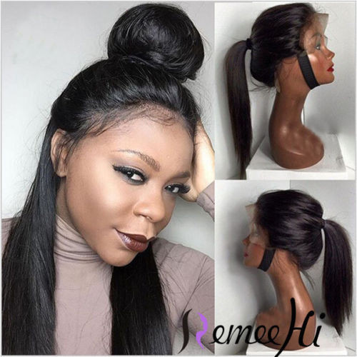 Remeehi Silky Straight Full Lace Wig 100 Indian Remy Hair 8 32