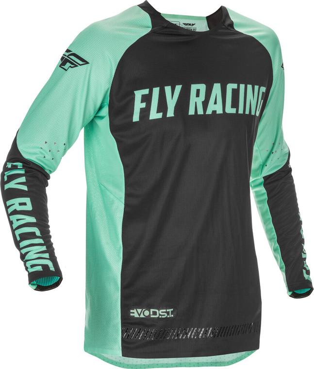 Fly Racing Evolution DST Mint LE Jersey | Mint/Black