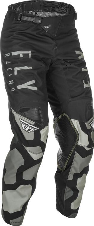 Fly Racing Kids Kinetic K221 Pants | Black/Grey