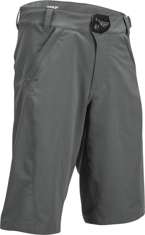 Fly Racing Warpath Shorts   Charcoal Grey
