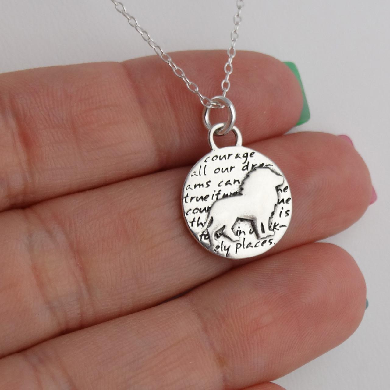 Koala Charm Necklace 950 Sterling Silver Handmade Inspirational Pendant Bear