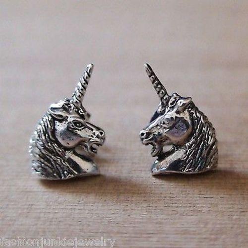 7308dbd8b Unicorn Earrings - 925 Sterling Silver - FashionJunkie4Life