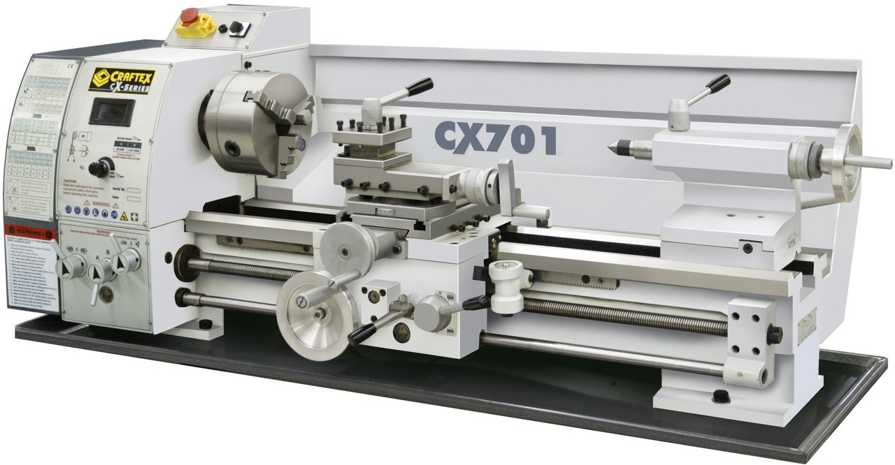 METAL LATHE 12IN  X28IN  WITH DIGITAL READOUT CX701