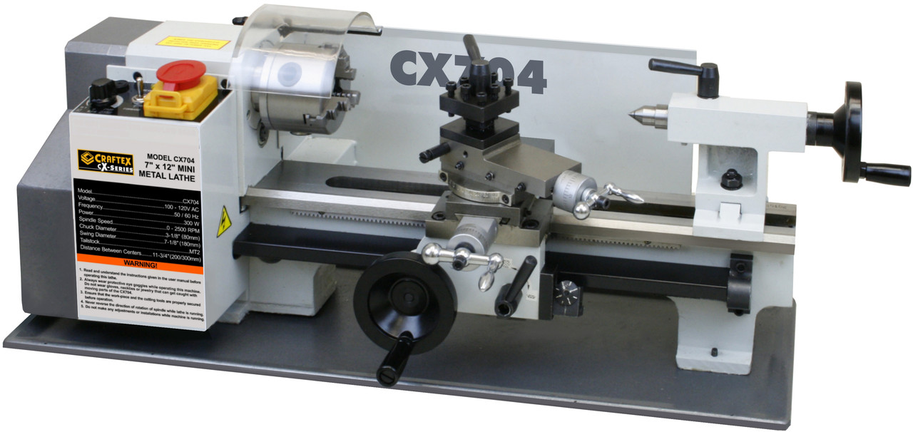 Buy Lathe Mini 7in X12in 12hp Cx Series Csa At Busy Bee Tools