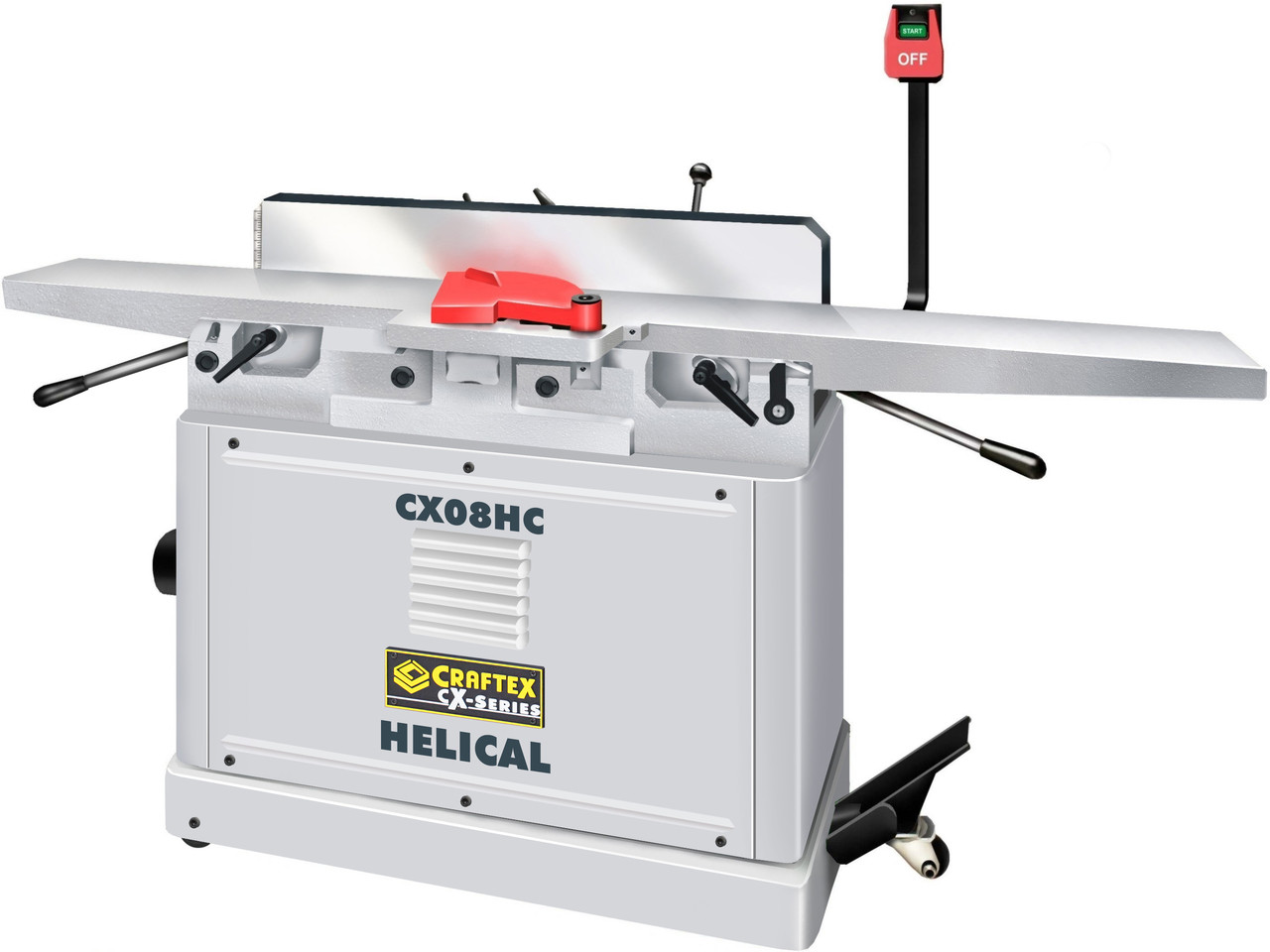 8IN  JOINTER HELICAL CUTTER CX08HC