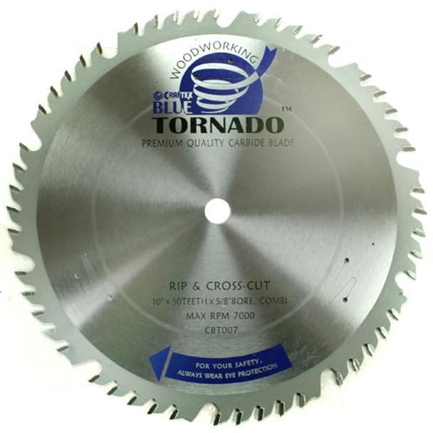 BLADE 10IN. X50T COMBI 5/8IN. CRAFTEXB/TORNADO