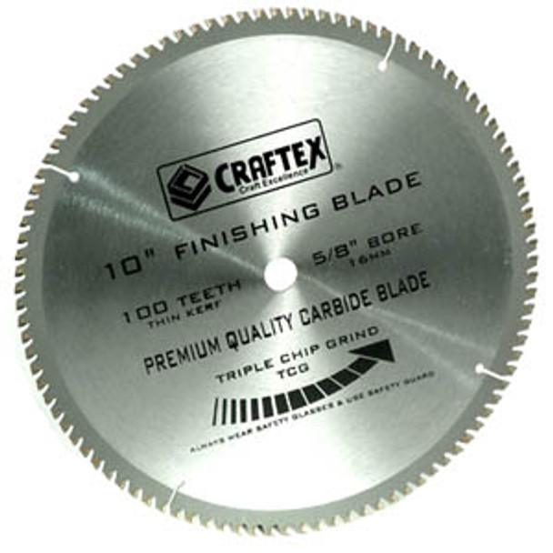 BLADE 10IN. X 100T TCG CRAFTEX