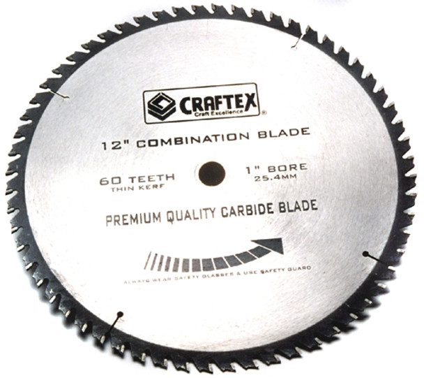 BLADE 12IN. X 60T COMBINATION CRAFTEX